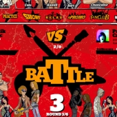 Bands battle screen